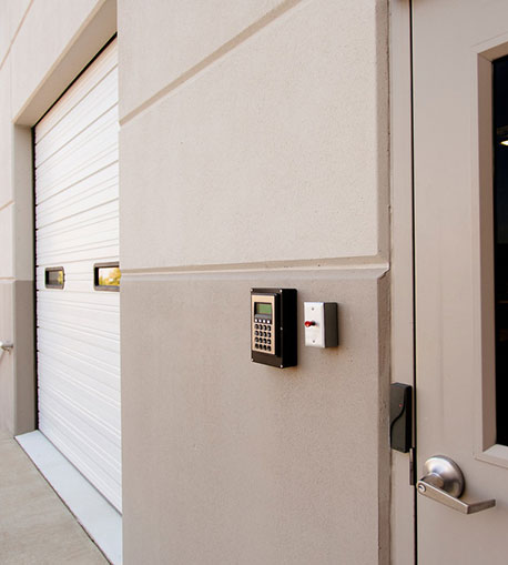 Security system installation - back door safety