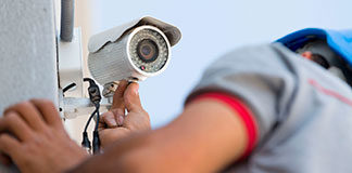 Security camera maintenance and service
